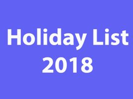 holiday-list-2018